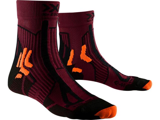 X-Socks Trail Run Energy Chaussettes Homme, sunset orange/opal black